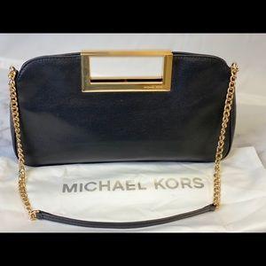 Michael Kors leather clutch.